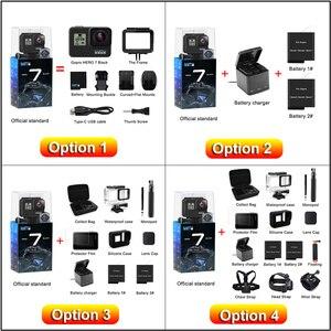Image 5 - Originale GoPro HERO 7 Nero Impermeabile Macchina Fotografica di Azione 4K Ultra HD Video 12MP Foto 1080p In Diretta Streaming Andare pro Hero7 Sport Cam