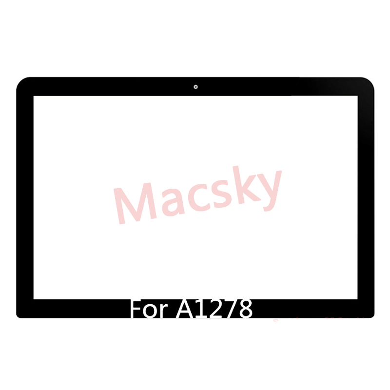 Brand New 13 A1278 Glass For Macbook Pro Front 15 1286 LCD Unibody 17 A1297 Glass Replacement Part 2009 2010 2011 2012 image