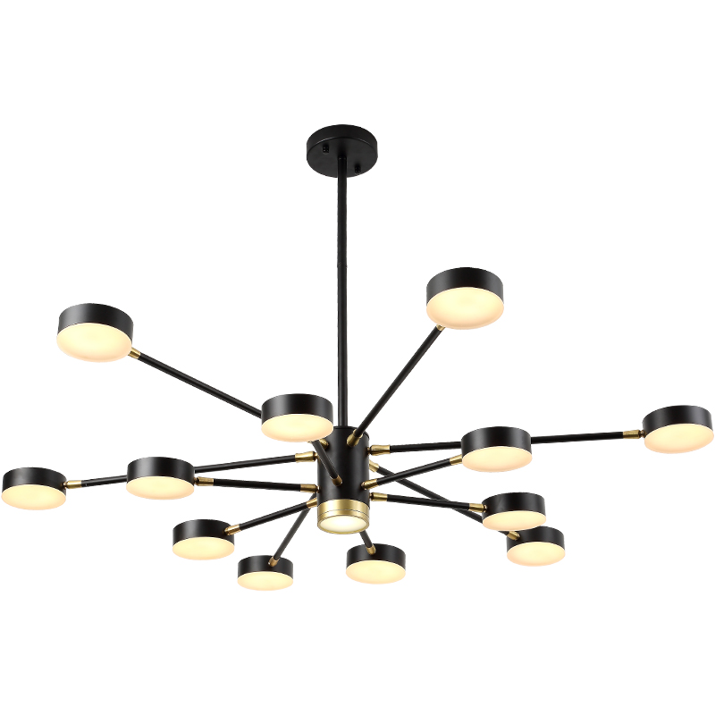Nordic LED Pendant Light, Creative Personality Living Room Ceiling Lamp, Black/White Led Hanging Lamp for bedroom dining room
