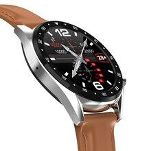 Tornstic L7 akıllı saat desteği telefon görüşmesi çevirici ekg kalp hızı ölçüm Smartwatch su geçirmez Ip68 İzle erkekler kadınlar Android IOS