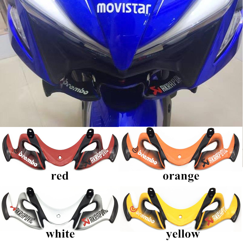 Modified Motorcycle nvx aerox cover front head parts protect mouth shell cover FOR YAMAHA NVX NVX155 125 AEROX155 L155 GDR155