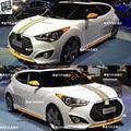 Модифицированные спортивные наклейки для кузова Hyundai Veloster  тюнинговые принадлежности