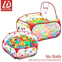 Океан мяч бассейн детский манеж палатка для детей мяч яма с корзиной открытый игрушки для детей Ballenbak