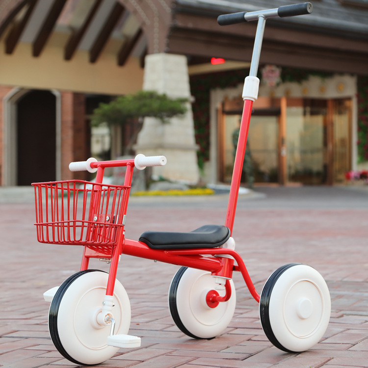 Ride On Tricycle Kids Balance Bike Portable Baby Bicycle Stroller Tricycle Scooter Learning Walk With Pedals