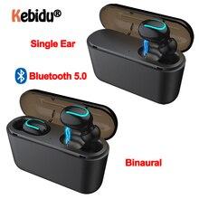 Q32 TWS Bluetooth 5.0 słuchawki słuchawki bezprzewodowe zestaw głośnomówiący słuchawki słuchawki sportowe gamingowy zestaw słuchawkowy telefonu PK HBQ