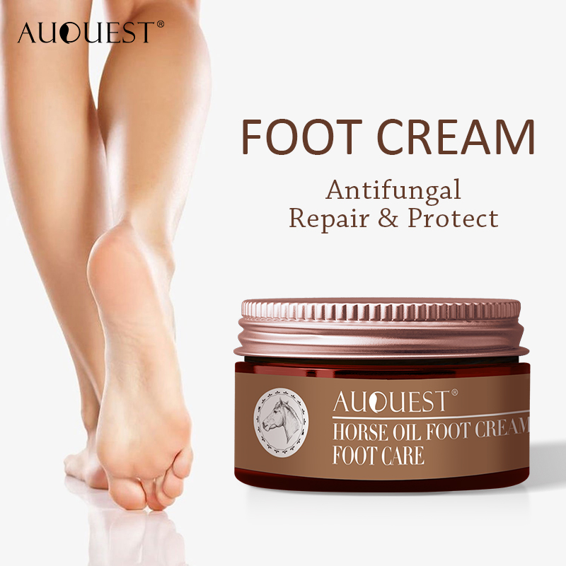 AuQuest Foot Cream Antifungal Itch Anti-chapping Blisters Foot Peeling Skin Deep-repair Moisturizing Soft Smooth Foot Care 2