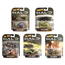 Горячие колеса Hotwheels сплав модель автомобиля резиновый фетальный Halo военный Военный Модель Коллекция игрушек DMC55