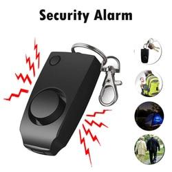 Personal Alarm 130 dB Loud Personal Security Alarm Keychain Emergency Safety Alarm for Women Kids Seniors 40FM12