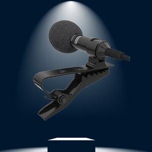 Image 4 - 1.5m omnidirecional microfone condensador para gravador para iphone 6s 7 ppus xiaomi almofada do telefone móvel dlsr câmera