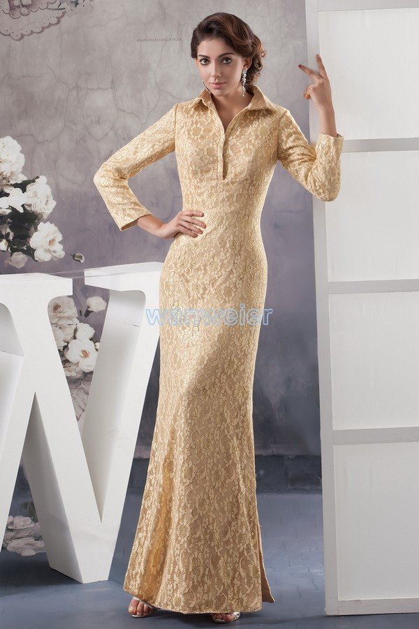 Free Shipping 2018 New Design Hot Custom Color/size Gown Cap Sleeve V-neck Long Sleeve  Mermaid Mother Of The Groom Dresses