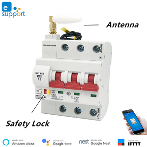 Image 4 - 25A eWeLink WiFi Smart Circuit Breaker Automatic Switch overload short circuit protection , work with Amazon Alexa Google home