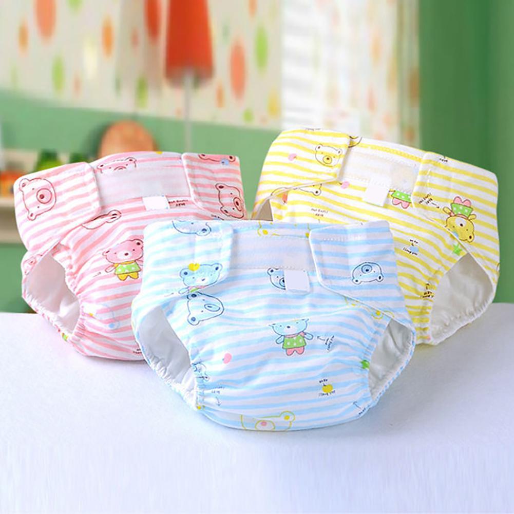 Дышащий подгузник для новорожденных, Детский Регулируемый моющийся многоразовый мягкий хлопковый подгузник, тканевый подгузник, водонепр...