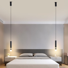 Nordic Style LED Pendant Light for Bedside Bedroom Bathroom Hanging Lamp Home Decoration Accessories Interior Lighting Fixtures