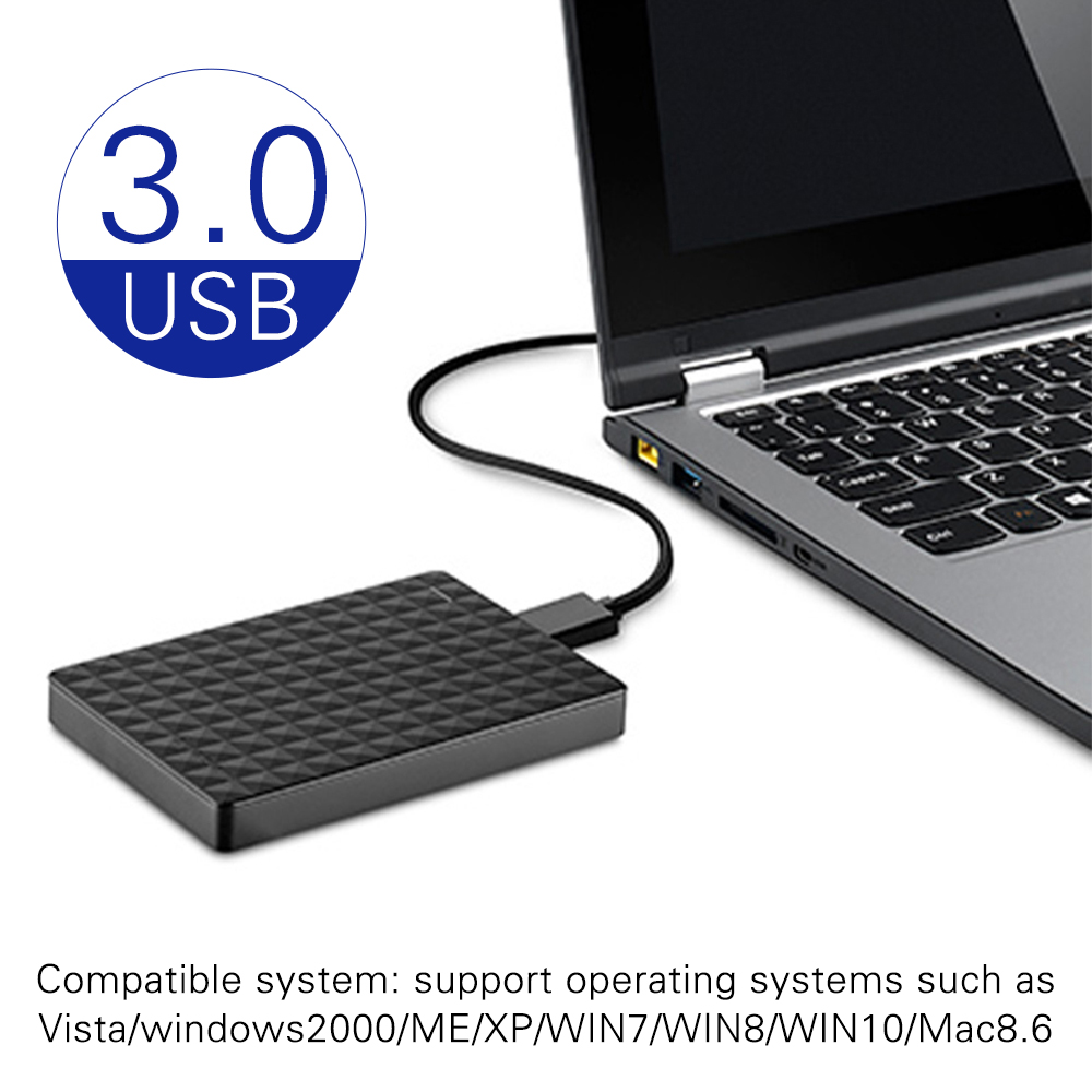 USB3.0 HDD 1T a 5400 RPM ABS Computers External Hard Drives Mobile HDD mechanical mobile hard disk Consumer Electronics 1