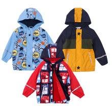 Осень 2020 детские куртки с капюшоном для мальчиков спортивные