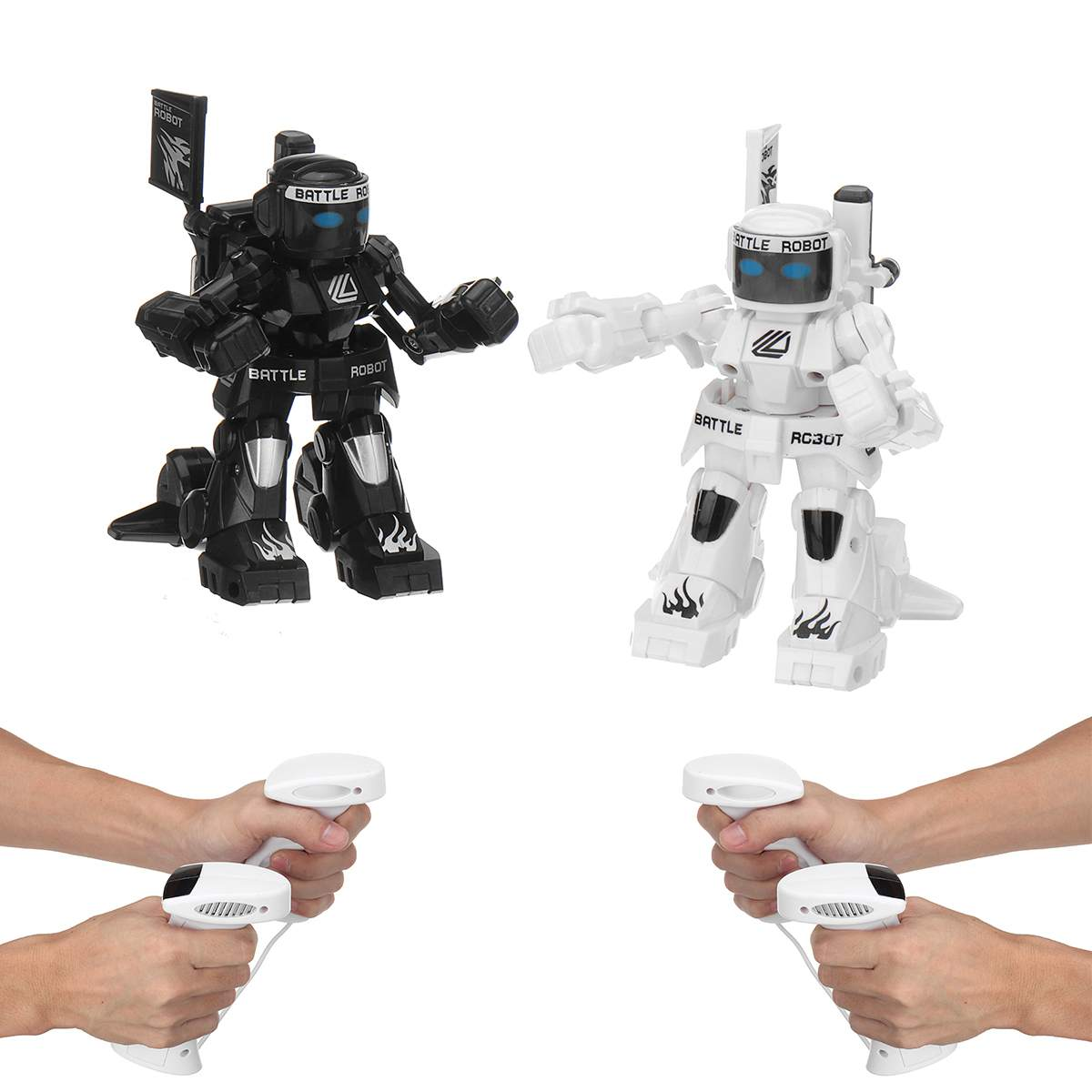 RC Battle Fighting Robot Remote Control Body Sense Control Smart robot intelligent educativo electric Toys For Children image