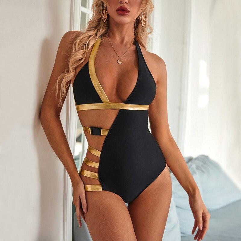 Monokini body Sexy maillots de bain