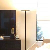Moderno conduziu a lâmpada de assoalho ajustável escurecimento luz do assoalho iluminação quarto sala estar lâmpada estar lâmpadas pé para sala estar
