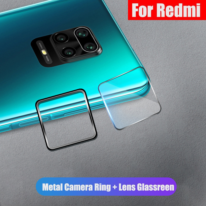 Tempered Glass On For Xiaomi Redmi Note 9S 7 8 9 Pro Max 8T 10X 4G 5G K20 K30 9T Pro CC9 E Camera Lens Protector Protective Case(China)