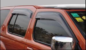 Image 3 - منحرف نافذة جانبية لتشنغتشو نيسان بالادين Oting الاكريليك الأسود نافذة درع الشمس المطر منحرف الحرس SUNZ