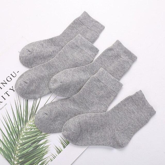 PPXX 5pairs/lot Cotton Newborn Baby Socks White Infant Girl Boys Socks for Kids Soft Footwear Sports Socks 3