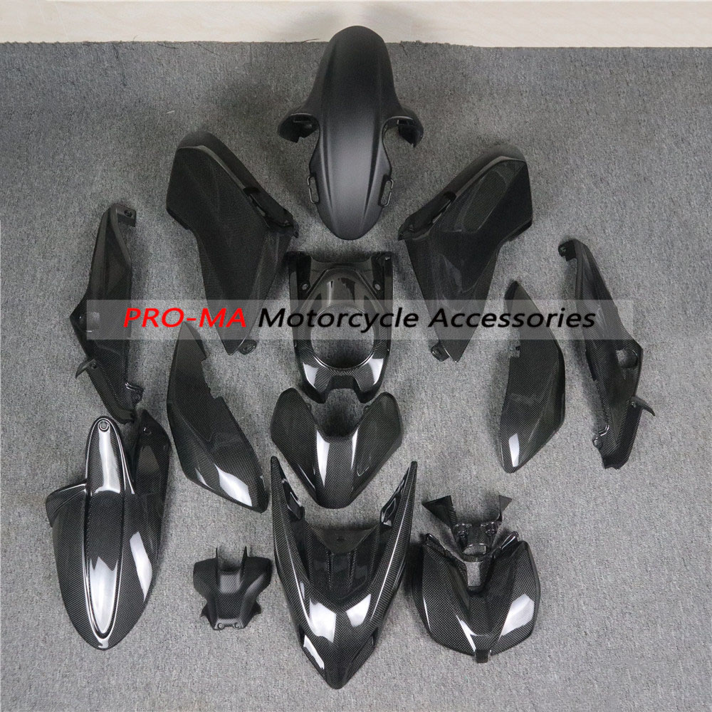 Full Fairing Kits For Ducati Hypermotard 950 2019-2020 Carbon Fiber Motorcycle