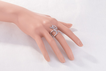 SuePhil New 2020 Women Rings Butterfly Light Pink Crystal Zircon Wings Ring for Women Trendy Jewelry rings