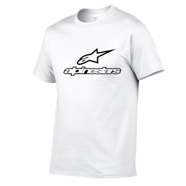 Brand New Alpinestars T Shirt Men Tops Summer Short Sleeve T-shirt Cotton Mans Tshirt Casual Funny T-Shirts Summer Homme Clothes
