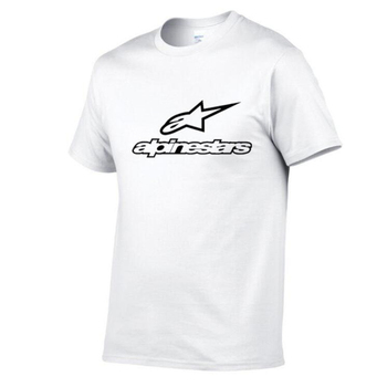 Brand New Alpinestars T Shirt Men Tops Summer Short Sleeve T-shirt Cotton Mans Tshirt Casual Funny T-Shirts Summer Homme Clothes