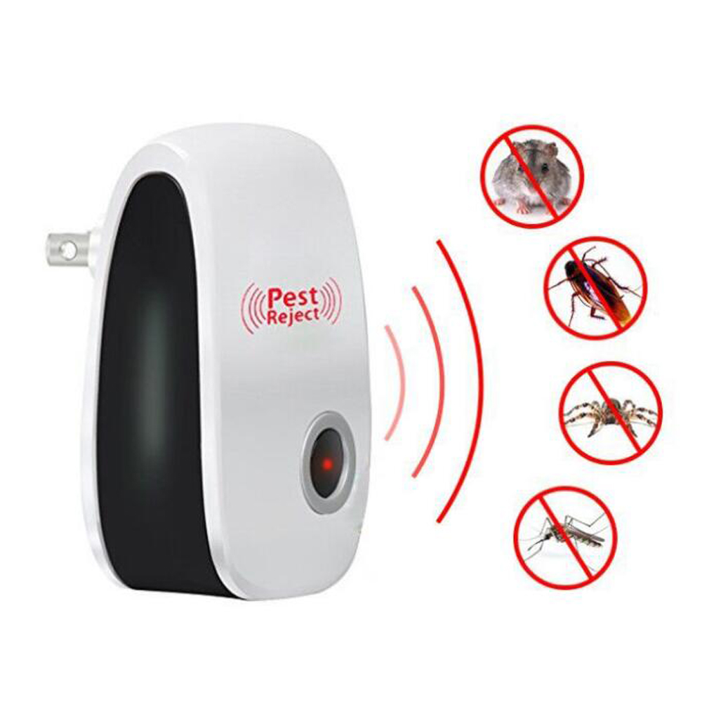 Repellent Cockroach Mouse Anti-Mosquito-Insect-Repeller Rat Pest Reject Cat Ultrasonic title=