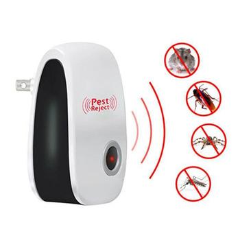 Ulepszona wersja elektroniczny kot ultradźwiękowy odstraszacz owadów szczur mysz karaluch Pest odrzucić odstraszacz ue US wtyczka tanie i dobre opinie Pluskwy Karaluchy Muchy Komary Myszy Termity 110-240 v Ultrasonic Pest Repellers
