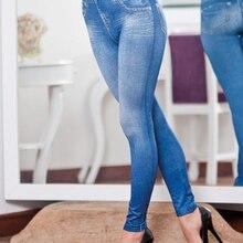 Jeans Leggings Lined Fitness-Pants Real-Pockets Slim Women Fleece Winter Fashion Woman