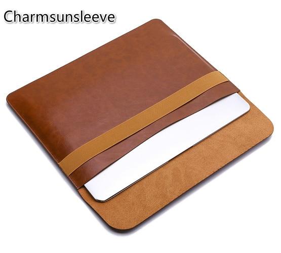 "Charmsunsleeve, para lenovo thinkpad x1 carbono gen 7 (14 "") portátil fino & leve bolsa caso, capa de couro de microfibra manga saco"