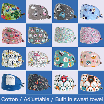 2020 High Quality Printing Work Caps Unisex Adjustable Hats Lab Hat Pet Grooming Caring Work Caps Women&men Wholesale New Sale