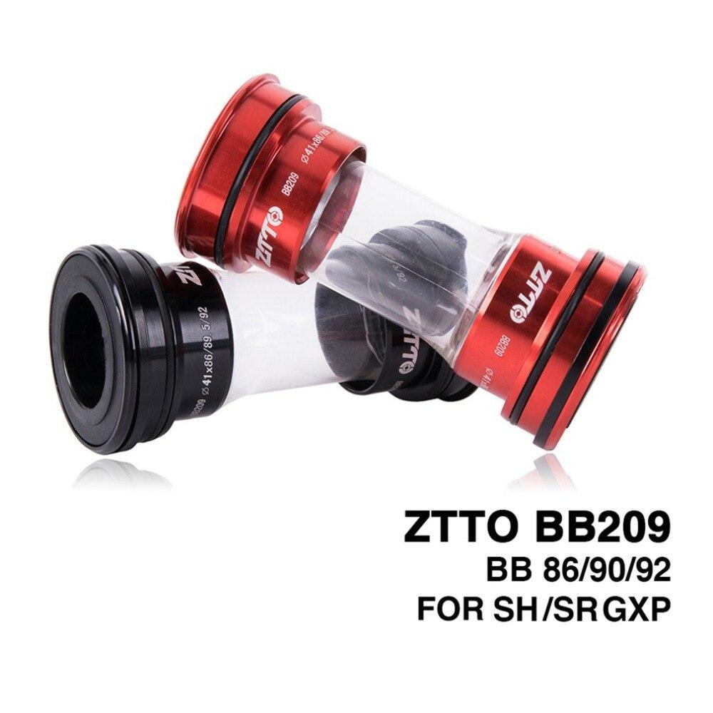 ZTTO BB209 BB92 BB90 BB86 Press Fit Bottom Brackets For Road Mountain Bike 24mm Crankset BB GXP 22mm Chainset Bike Parts