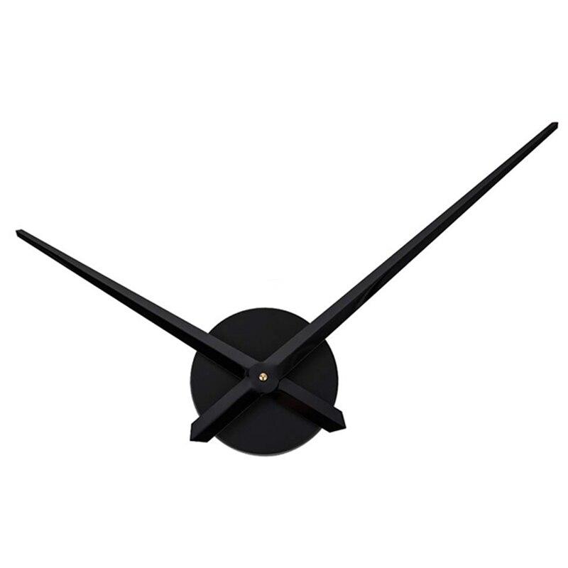 Reloj de pared silencioso Kit de movimiento mecanismo de reloj piezas con reloj manos DIY mecanismo de reloj de cuarzo negro Reloj de pared silencioso con posición de amor sexual juego de despedida de soltera Kama Sutra 3D DIY reloj para habitación de adultos decoración de acrílico reloj grande