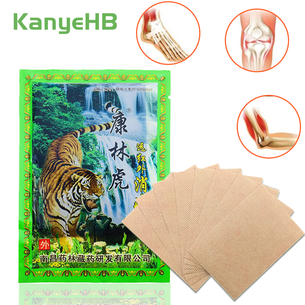 8pcs Medical Tiger Balm Joint Pain Patch Killer Body Back Relax Neck Back Body Pain Relaxation Pain Plaster H029