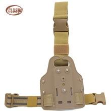 Tactical Leg Holster Platform Hunting Gear Thigh Drop Paddle Adapter Glock 17 19 Colt 1911 USP Sig P226