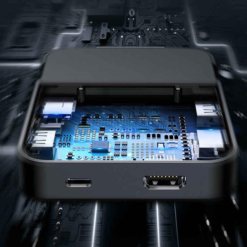 Koop Usb Type C Hub Docking Station Voor Samsung S10 S9 Dex Pad Station USB-C Naar Hdmi Dock Power Adapter voor Huawei P30 P20 Pro