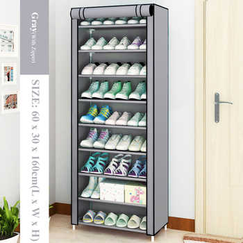 Multilayer Shoe Cabinet Dustproof Shoes Storage Closet large Space-saving Assemble Organizer Holder Shoe Rack for Home Furniture - DISCOUNT ITEM  29 OFF Furniture