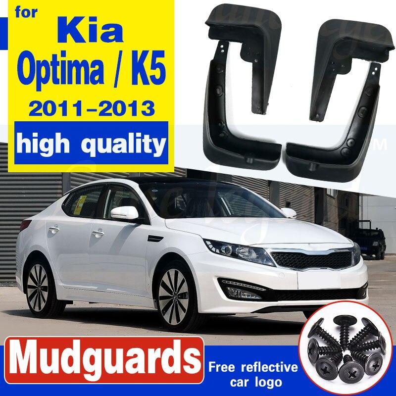 Mud Guard Splash Flaps 4pcs 1set Genuine Parts for Kia New 2014 2015 Optima K5