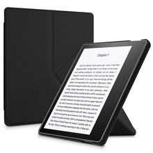 Origami Stand Case for Kindle Oasis 7 Inch (9th Generation-2017 and 10th Generation-2019) - Slim Fit Cover with Auto Sleep/Wake