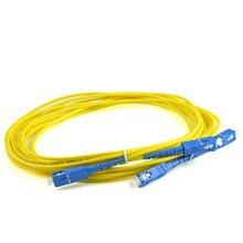 10 шт. SC UPC 3 метра/5 метров/10 метров 9/125 одномодовый волоконно-оптический патч-корд кабель