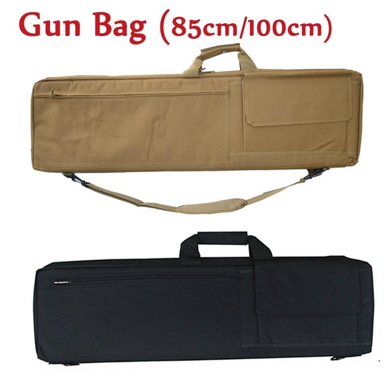 Rifle Gun Bag Tactical Hunting Airsoft Air Gun Carry Case Shoulder Bag Hand Carry Strap Nylon Gun Holster Gun Protection Bag