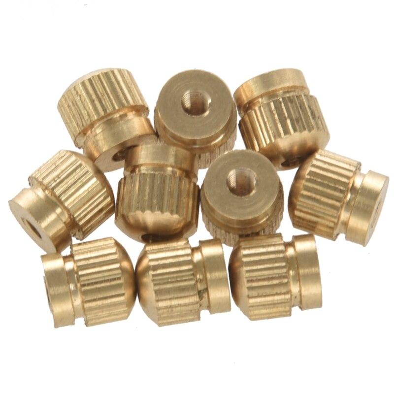 10pcs Tenor Horn Key Button Piston Value Cap Screws For Trumpet Tenor Horn Cornet Tuba Accessories Excellent (In) Quality