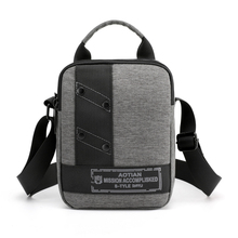 купить 2019 Men's Crossbody Bag Messenger Bag Male Waterproof Nylon Satchel Over The Shoulder Bags Business Handbag Briefcase Handbag по цене 875.36 рублей