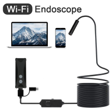 WIFI Endoscope Camera 720P HD 1200P Wireless wi-fi endoscopic camera Borescope Camera For Android PC IOS endoskop smartphone