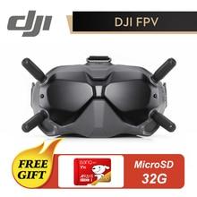 Gafas DJI FPV originales VR, lentes DJI con transmisión de imágenes Digital de larga distancia, baja latencia y fuerte antiinterferencia