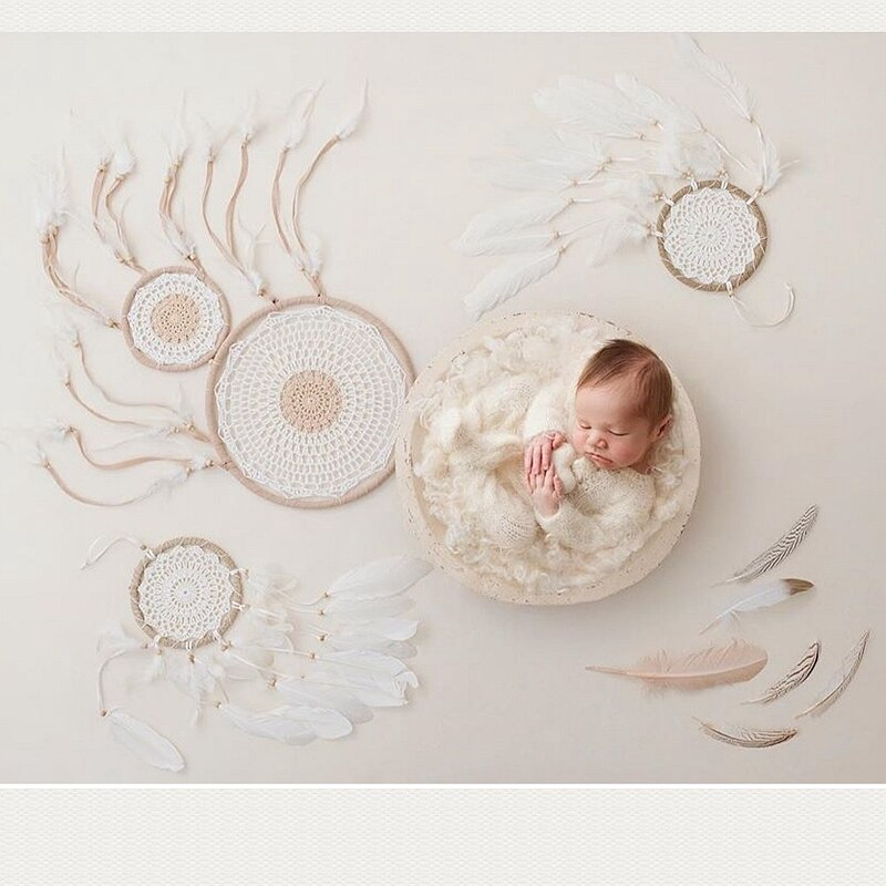 10 colors big Wooden bowl infantile creative photography Props basin creative newborn photography prop in Baby Cribs from Mother Kids