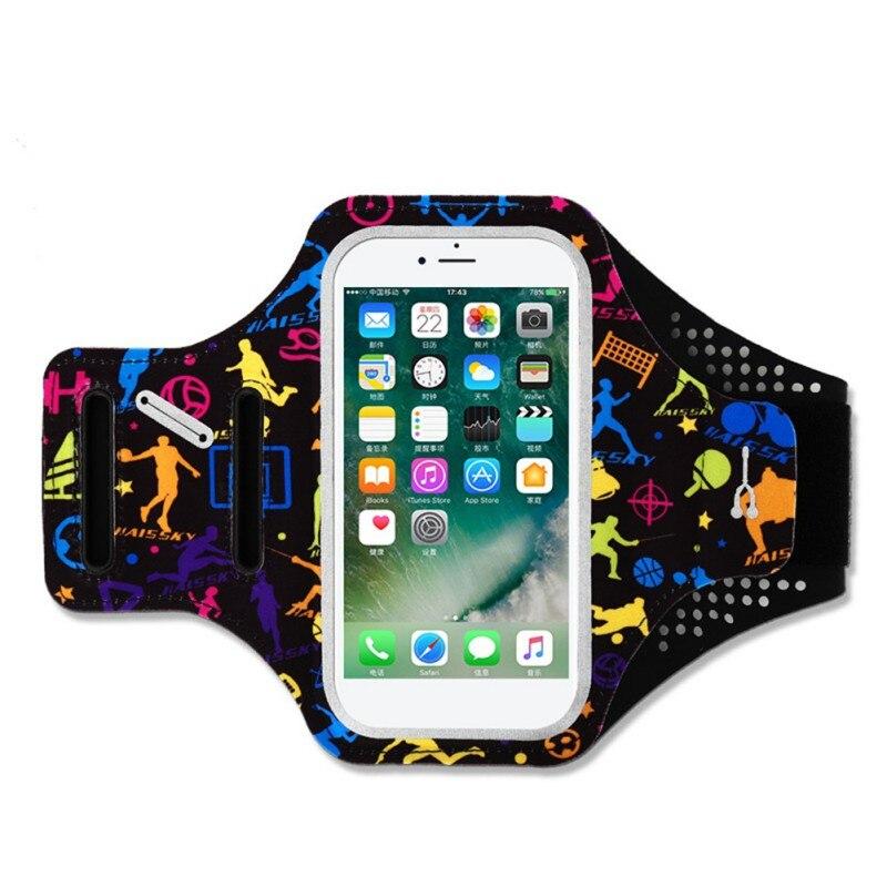 Mobile Phone Arm Bag Portable Cycling Running Arm Bag Waterproof Wrist Bag Men Women Outdoor Sport Accessory